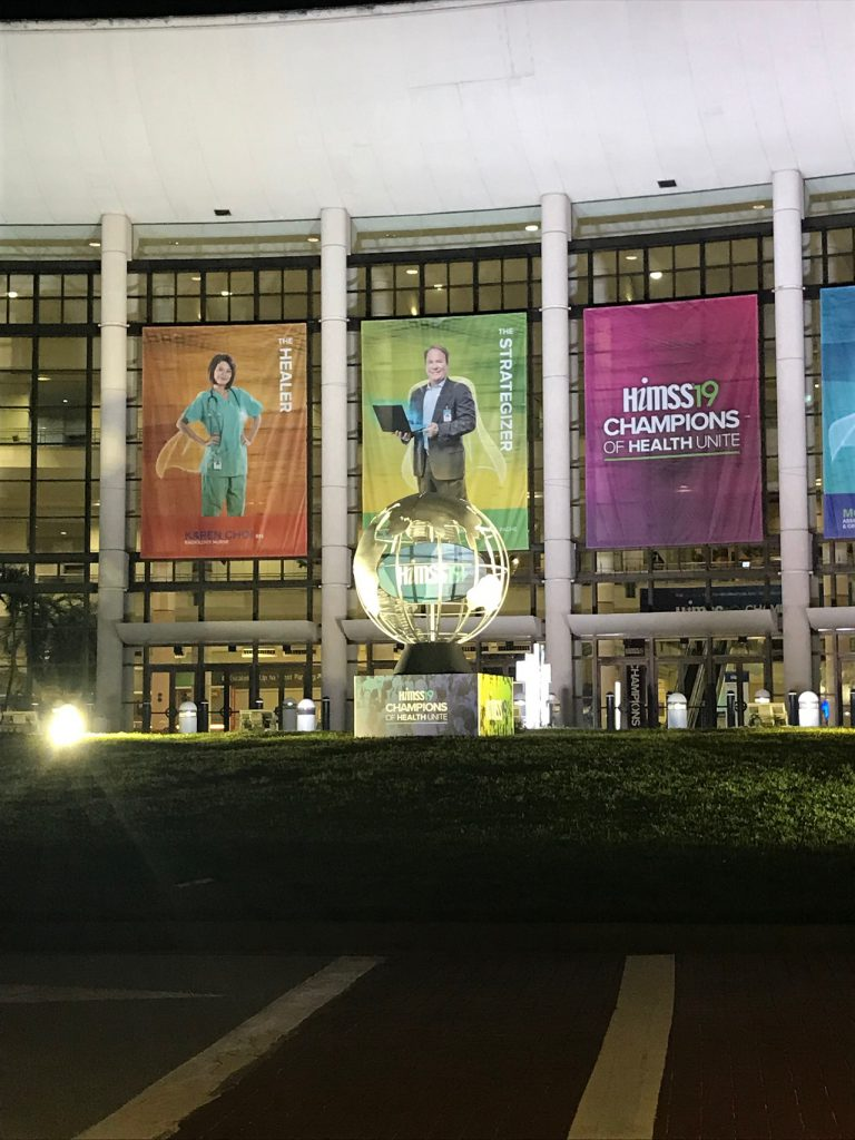 HIMSS 2019 OPENING DAY